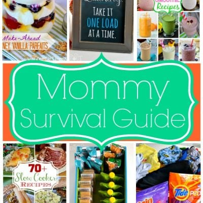 Mommy Survival Guide + Laundry Room Printable!