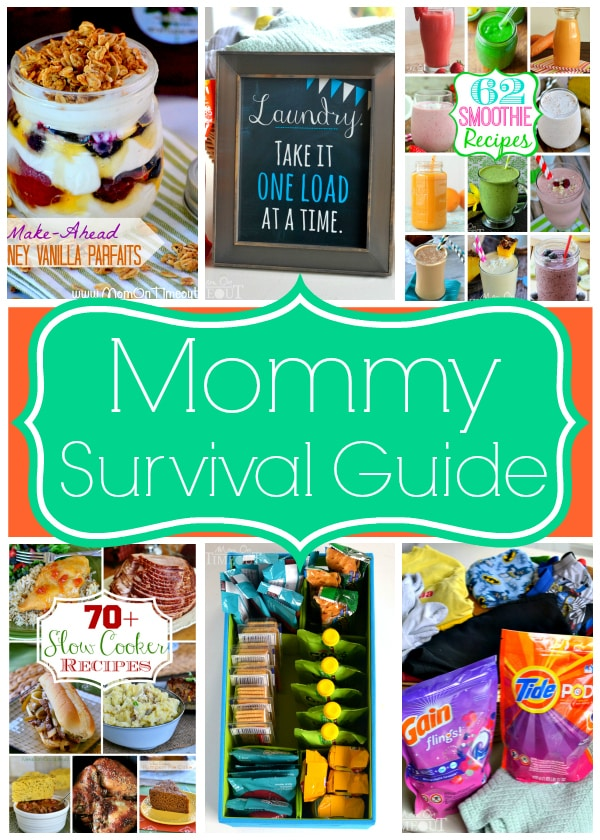 Some of my best tips and tricks for surviving mommyhood. Plus a super adorable Laundry Printable! | MomOnTimeout.com #TidePods #GainFlings #sponsored