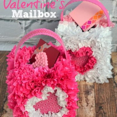 DIY Valentine's Mailbox #ScotchEXP
