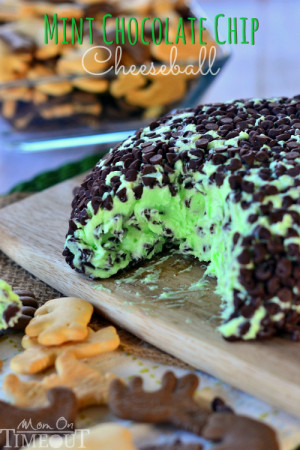 mint-chocolate-chip-cheese-ball