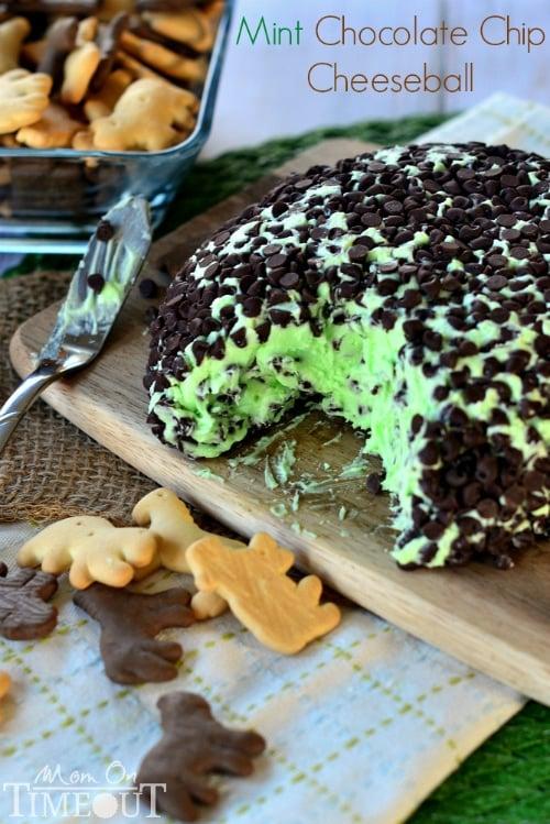 Mint Chocolate Chip Ice Cream Ball Recipe