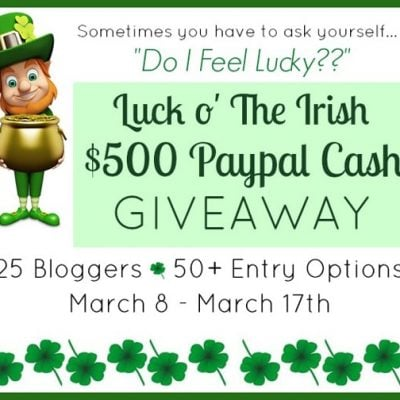 20+ St. Patrick's Day Ideas | $500 Luck o' The Irish Giveaway