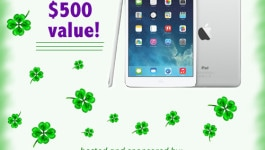 16 GB iPad Air Giveaway!