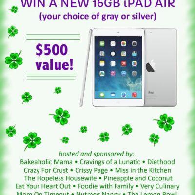 16 GB iPad Air Giveaway!