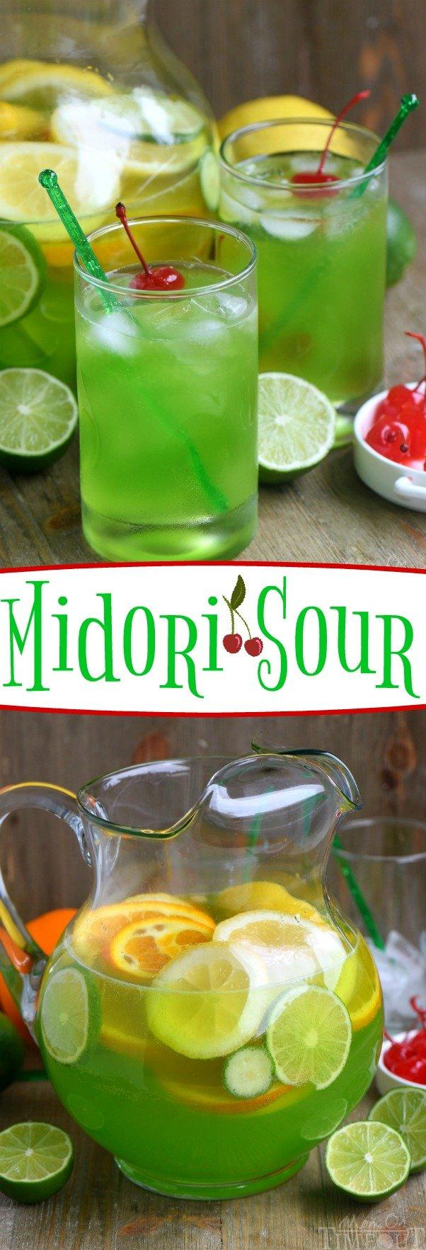 midori-sour-recipe-collage