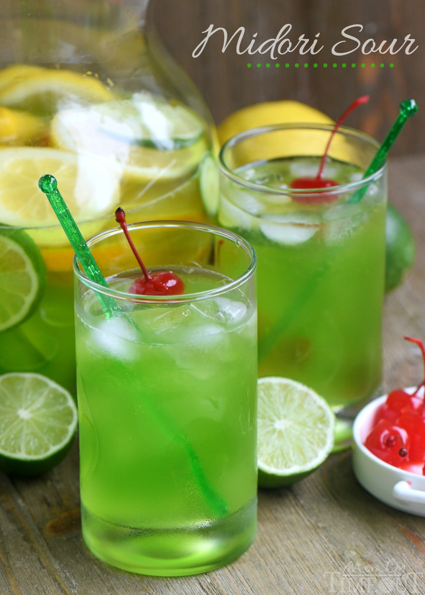 Midori sour recipe mom on timeout for Easy to make drinks