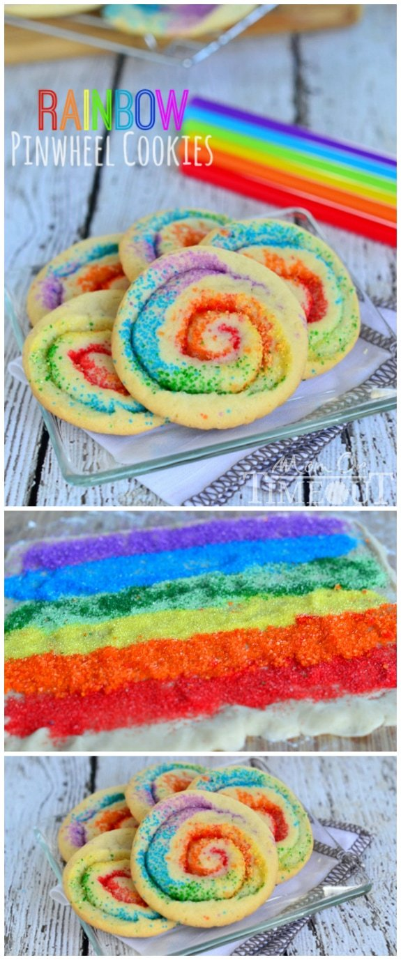 rainbow cookies st patrick's day