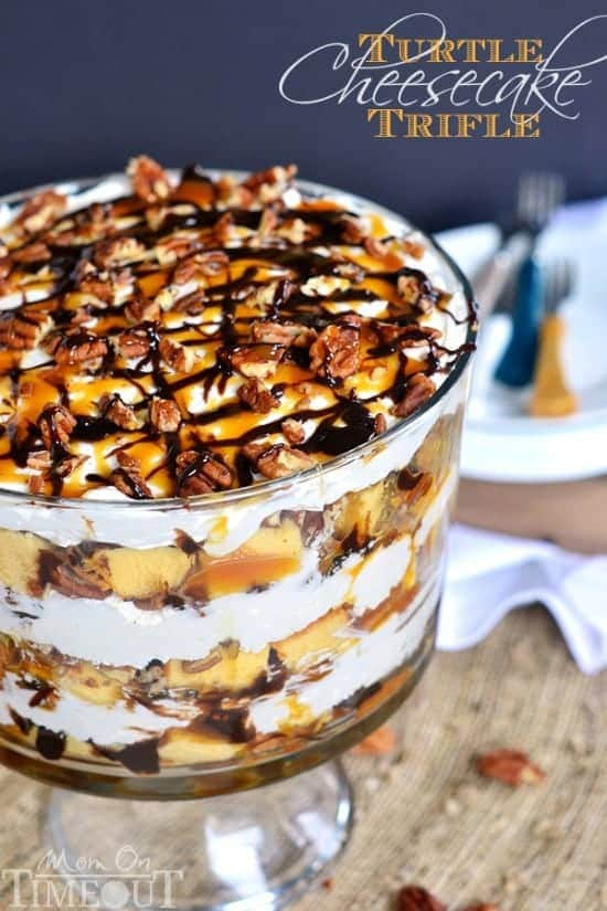 Turtle Cheesecake Trifle Mom On Timeout