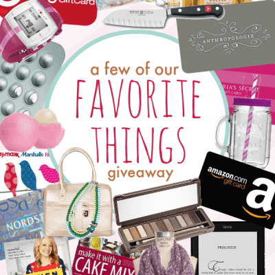 "Mother's Day ""Our Favorite Things"" Giveaway"