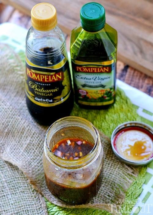 Balsamic Honey Grilled Steak Salad and Vinaigrette   MomOnTimeout.com