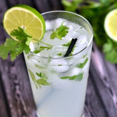 Coconut Lime Cilantro Cooler