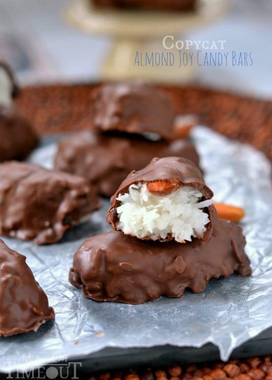 Easy Copycat Almond Joy Candy Bars | MomOnTimeout.com