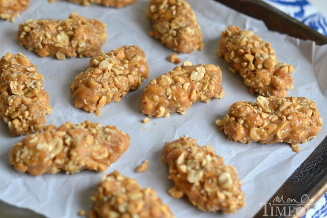 No-Bake, Easy, Totally Nutty Peanut Butter Candy Bars   MomOnTimeout.com