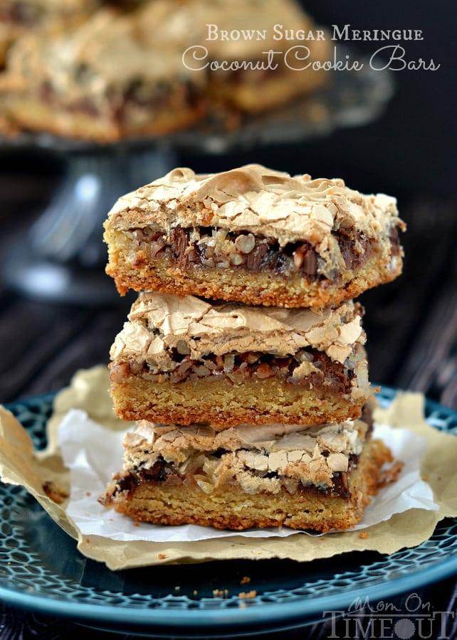 It's hard to resist these gorgeous Brown Sugar Meringue Coconut Cookie ...