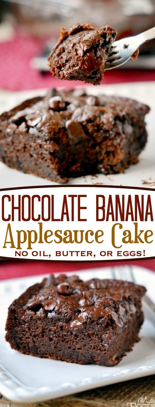 Cake Mix Bananas Applesauce