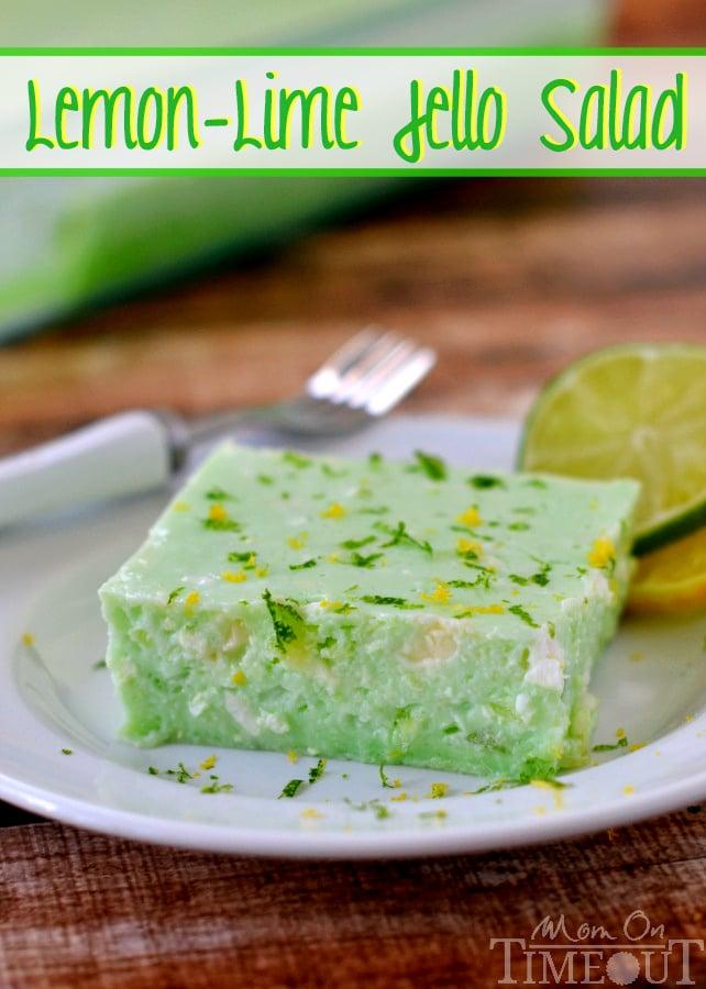 Lemon Lime Jello Salad Aka Dads Green Jello