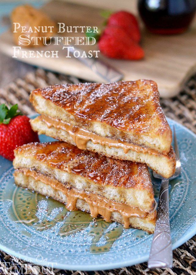 ... to your new favorite breakfast. Peanut Butter Stuffed French Toast