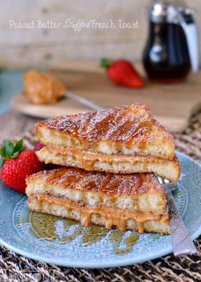 Peanut Butter Stuffed French Toast - Mom On Timeout