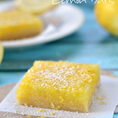 Amazing Microwave Lemon Bars
