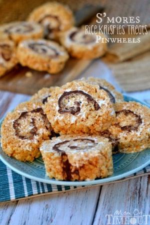 easy-smores-rice-krispies-treats-pinwheels-recipe