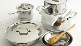 All-Clad Stainless-Steel 10-Piece Set Giveaway!