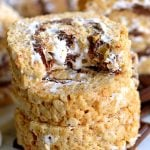 "[adthrive-in-post-video-player video-id=""i2r3DDij"" upload-date=""2019-06-19T21:16:14.000Z"" name=""S'mores Rice Krispies Treats Pinwheels"" description=""Say goodbye to boring squares and hello to these fun S'mores Rice Krispies Treats Pinwheels! Layers of marshmallow, chocolate, and graham cracker rice krispies treats are rolled up into the perfect bite-size package! Irresistible!""]"