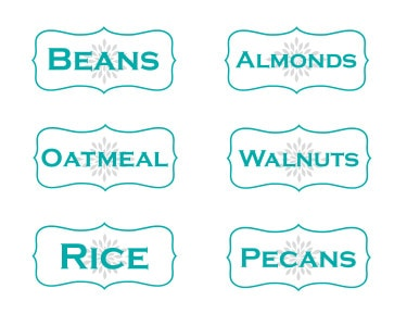 beans-almonds-oatmeal-walnuts-rice-pecans