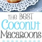best-coconut-macaroons-collage