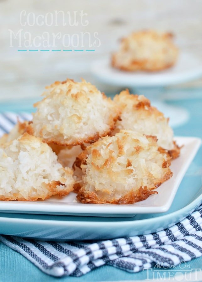 easy coconut macaroons recipe without sweetened condensed milk
