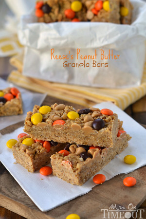 easy-reeses-peanut-butter-granola-bars