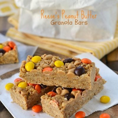 Reese's Peanut Butter Granola Bars