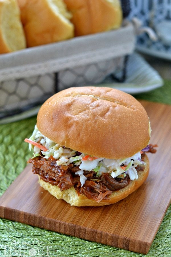 Slow Cooker Root Beer Pulled Pork Sandwiches - simple and delicious ...