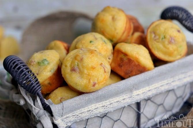 Mini Cornbread Muffins Mini Corn Muffins Were
