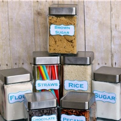 Kitchen Storage Container Labels – Free Printables!