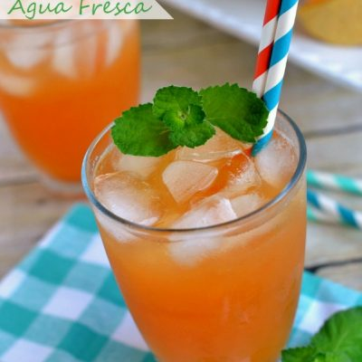 Melon Mint Agua Fresca