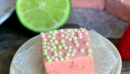 Strawberry Daiquiri Fudge