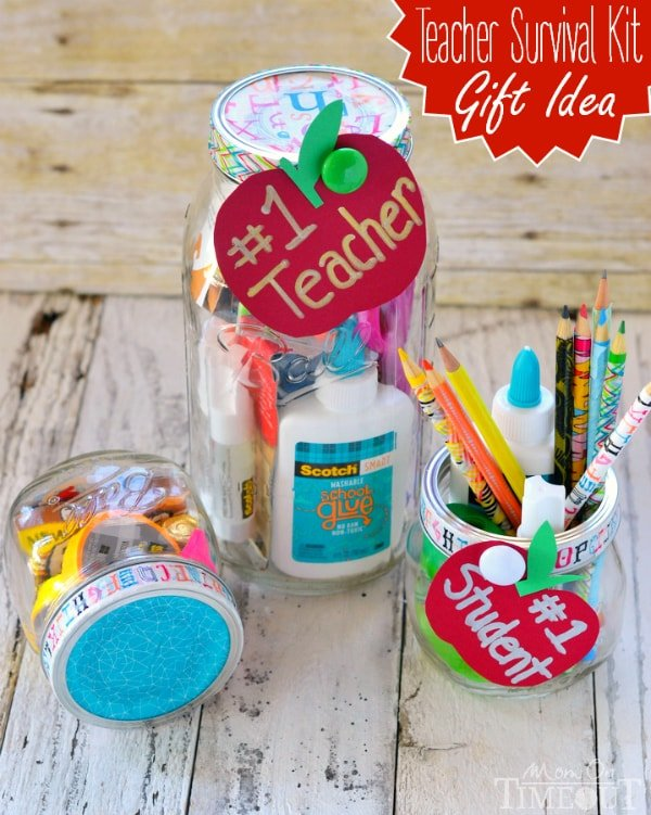 Teacher Survival Kit Gift Idea #MakeAmazing - Mom On Timeout