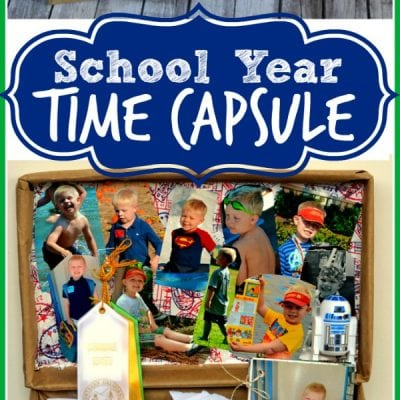 School Year Time Capsule #MakeAmazing