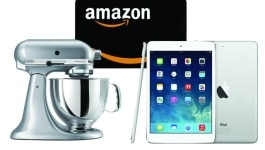 Win a KitchenAid Mixer, Amazon Gift Card OR an iPad Mini!