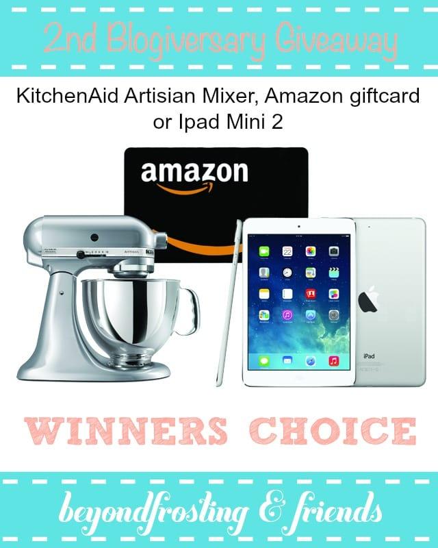 Win A Kitchenaid Mixer Amazon Gift Card Or An Ipad Mini Mom On