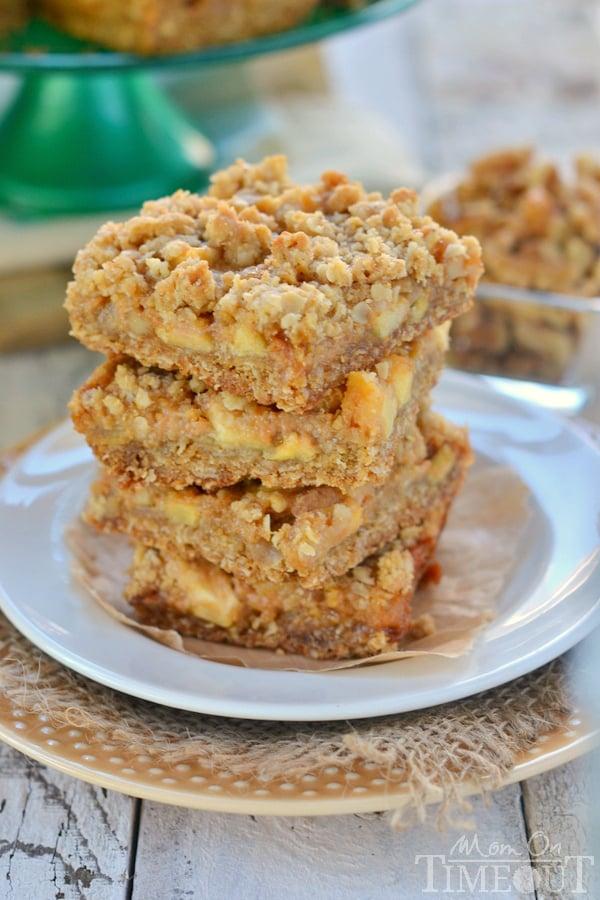 Easy Caramel Apple Bars Recipe — Dishmaps