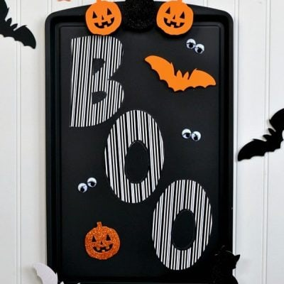 Easy Halloween Magnetic Tray