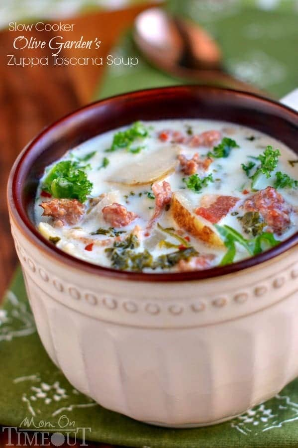 Slow Cooker Olive Garden Zuppa Toscana Mom On Timeout
