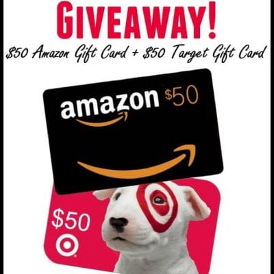 Favorite Things Giveaway: $50 Amazon + $50 Target Gift Cards