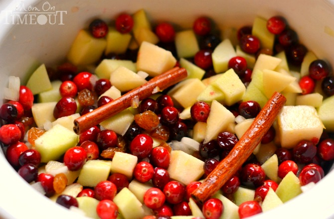 cranberry-chutney-ingredients-pear-cinnamon-raisins-cranberries