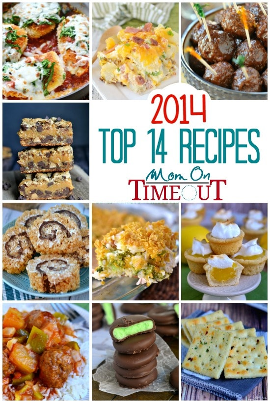 The Most Popular Recipes on Mom On Timeout for 2014!!   MomOnTimeout.com  #roundup #recipe