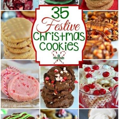 35 Festive Christmas Cookies!
