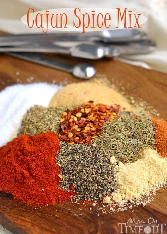 ... Cajun Spice Mix! | MomOnTimeout.com | #spicy #recipe #diy #spice