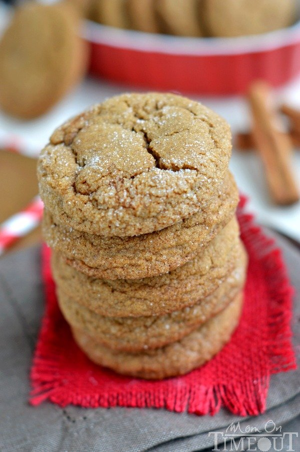 With plenty of spice and warmth, these Perfect Soft Ginger Cookies are ...