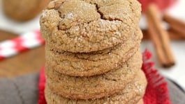 Perfect Soft Ginger Cookies
